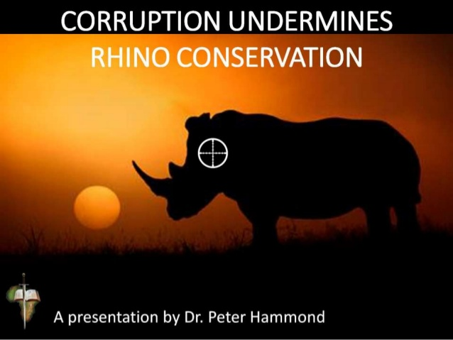 Corruption Undermines Rhino Conservation